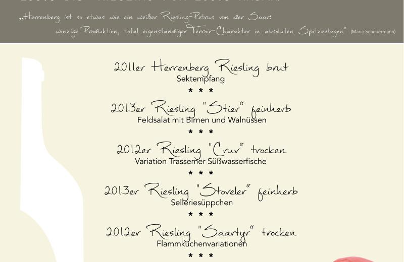 Weinprobe mit dem Weingut Herrenberg aus Schoden – Ausgebucht
